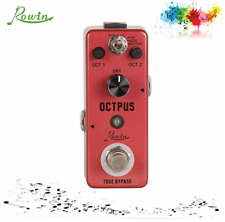 More details for uk stock rowin octpus guitar effects lef-3806 guitar pedal for acoustic guitar