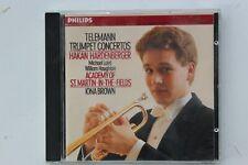 Telemann:Trumpet Concertos-Håkan Hardenberger-Iona BROWN