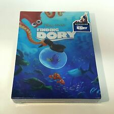 FINDING DORY [2D + 3D] Blu-ray STEELBOOK [BLUFANS] DOUBLE LENTICULAR [#368/900]