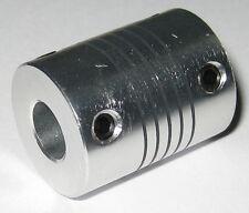 6 mm to 8 mm Shaft Flexible Coupling - 6mm to 8mm - Aluminum Flex Coupler