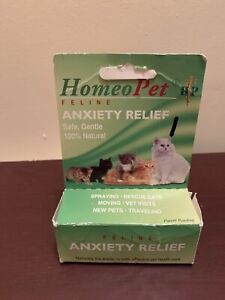 HomeoPet Anxiety Relief [Feline] Homeopathic Remedy for Fears Cats/Kittens 15ml