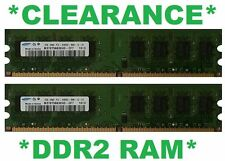 BRAND NEW 4GB (2x 2GB) DDR2-800/PC2-6400 240 Pin PC2 Desktop RAM AUSSIE SUPPLIER
