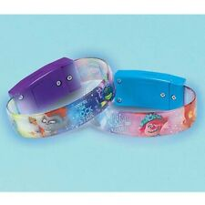 TROLLS World Tour LIGHT UP BRACELETS/ FAVORS (4ct) ~ Birthday Party Supplies Toy