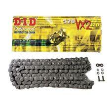 DID 520 VX2 Black/Black (Raw finish) Pro-Street X-ring Motorcycle Chain 120 link