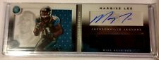 Marqise Lee 2014 Playbook Booklet Auto Dual Jersey 250/299 Jacksonville Jaguars