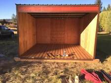 Firewood storage Shed Kit 10x10 easy to assemble and portable