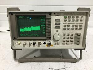 HP Agilent 8563A Spectrum Analyzer 9 Khz to 26 GHz  w/opt H01