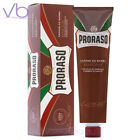 PRORASO Sapone Da Barba Red Shaving Cream In A Tube with Shea Butter, Sandalwood
