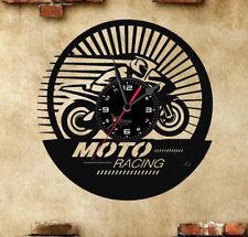 Orologio disco vinil clock orologio da parete Moto sport racing
