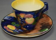 Antique H.K.Tunstall England Art Pottery Art Deco Fruit Cup and Saucer Set!
