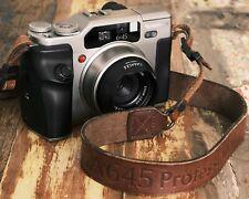 Fujifilm GA645Zi 645 120mm Medium Format Film Camera, with leather strap & hood!