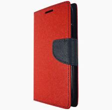 Étuis, housses et coques etuis portefeuilles rouge pour téléphone mobile et assistant personnel (PDA) Samsung
