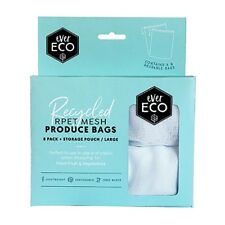 ever ECO Reusable Produce Bags Storage Pouch Vegetable Fruit Mesh Large 8 pack