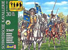 Revell 1 72 Soldatini Swedish Cavalry 15 Figure da colorare Art 02567