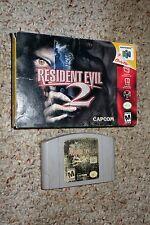 Resident Evil 2 (Nintendo 64 n64, 1999) with Box GOOD B