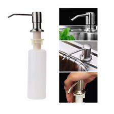 Stainless Steel Hand Pump Soap Dispenser For Mount Deck Kitchen Sink Counter