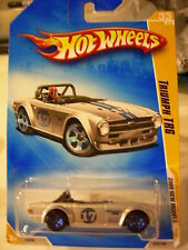 Hot Wheels Triumph TR6 2009 New Models Silver