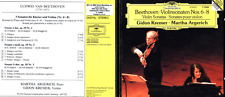 CD DGG BEETHOVEN VIOLINSONATEN NOS 6-8 GIDON KREMER MARTHA ARGERICH