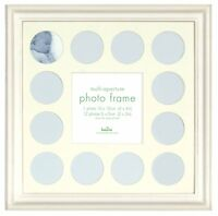 Baby Multi-Aperture Picture/Photo Frame Holds 13 Photos 31x31cm