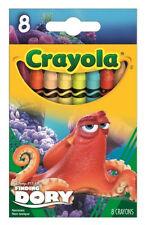 Disney Finding Dory Hank 8 Regular Crayons from Crayola 52-4397