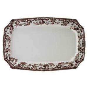 """Spode Delamere Rectangular Serving Platter, 17.5"""", Roast, Vegetables, Desserts"""