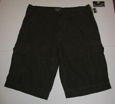 Nwt Mens Converse Green Striped Cargo Shorts 31