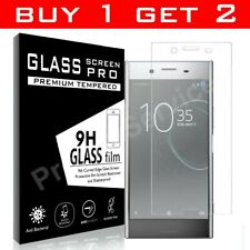 Tempered Glass Film Screen Protector For Sony Xperia XZ1