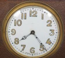 Vintage Art Deco Bedside Clock Swiss Made Traveling Mantel Clock C1910
