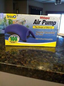 Whisper Air Pump - 100 gallon, Blue (77855)