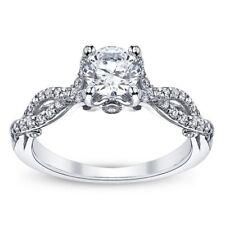 BRAND NEW Verragio INSIGNIA 7050R 18K White Gold Engagement Ring