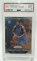 2015-16 Panini Prizm Karl-Anthony Towns RC Rookie PSA 9
