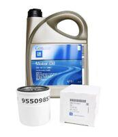 ORIGINAL GM OPEL Motoröl 5W30 5W-30 dexos2 LongLife 5 Liter + Ölfilter 95509857