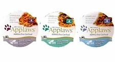 Applaws Additive Free 100% Natural Food For Cats 3 Flavor Variety 6 Can Bundle: