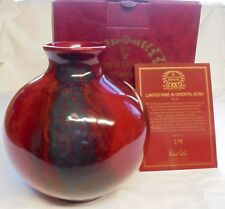 Royal Doulton Flambe Lantao Vase In Oriental Sung - Ba 14 - #178