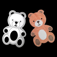Bear Metal Cutting Dies Crafts DIY Scrapbooking Paper Cards Embossing Decor