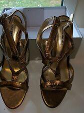 BNIB Charles David Bronze Strappy Women Sandal Heels- sizes 42