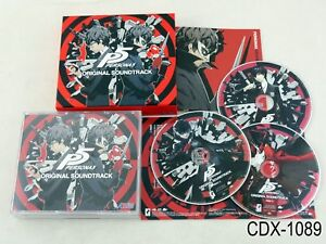 Persona 5 Original Soundtrack OST Japanese Import 3CD Music CD Japan US Seller
