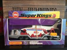 MATCHBOX Super Kings k-13c-8. RARE Last SILVER versione OVP MINT from 1981