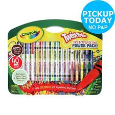 Crayola Twistables 40 Piece Sketch and Draw Set 4+ Years
