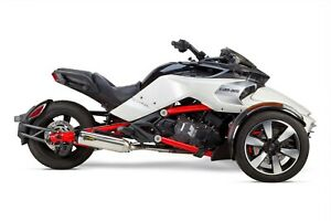 Two Brothers Racing TBR Can-Am Spyder F3/S S1R Slip-On System (2015-2021)