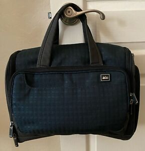 """REI >NEW< Blue/ Gray 16"""" Travel Tote Bag"""