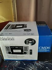 Clarion Cmd6 Marine Head Unit Cd Radio with Remote Brand New Sealed .
