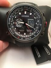 Citizen Men's Eco-Drive Promaster Air Rubber World Time Watch JZ1065-13E-H45