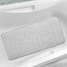 Extra Long Cushioned Bathmat Relaxing Anti Slip Shower Mat With Suction Cups