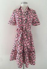 Kate Spade Small Blooms Poplin Dress Floral Shirtdress Dress Sz 2
