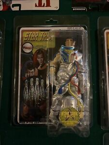 """Mego""""esque"""" Star Trek """"Custom Carded"""" Spock in environmental suit w/FTC Clam"""