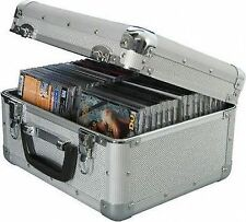 Citronic Cda40 Aluminium CD Flight Case (holds 40 Cds)