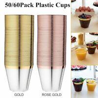100 Unid... Details about  / Vasos De Plastico Vaso Desechable De Bebidas Transparentes De 5 Oz