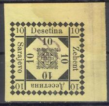 Bosnia Zehent tax on forestry products revenue 1880 fiscal Stempelmarke