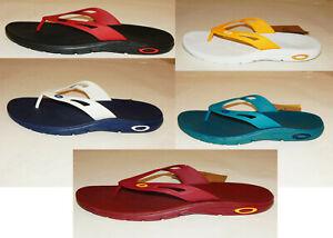 Oakley Ellipse Men's Flip Flops / Sandal / Shoe Several Colors Most Sizes New